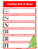 Editable Holiday Fluency Roll & Read