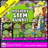 Holiday STEM Activities and Challenges BUNDLE (with Hallow