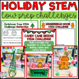 Holiday STEM Activities: December Stem: Three Low Prep Challenges