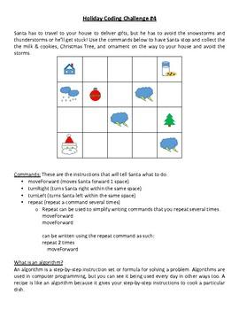 Holiday STEM - Coding Challenge