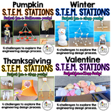 Holiday STEM Stations Bundle