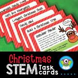 Holiday STEM Task Cards for Christmas (December) - Distanc