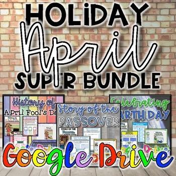 Holiday SUPER Bundle for April {Digital}