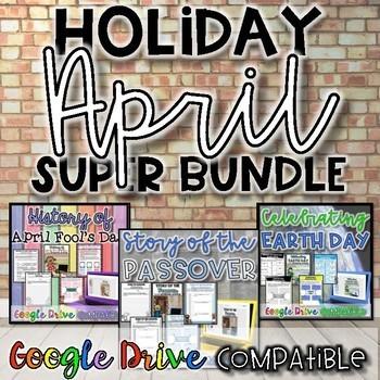 Holiday SUPER Bundle for April {Digital AND Paper}