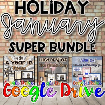 Holiday SUPER Bundle for January {Digital}