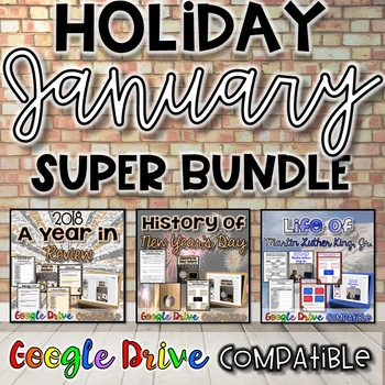 Holiday SUPER Bundle for January {Digital AND Paper}