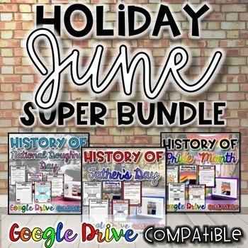 Holiday SUPER Bundle for June {Digital AND Paper}