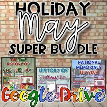 Holiday SUPER Bundle for May {Digital}