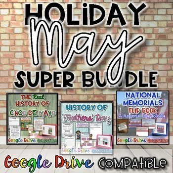 Holiday SUPER Bundle for May {Digital AND Paper}