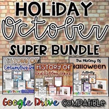 Holiday SUPER Bundle for October {Digital AND Paper}