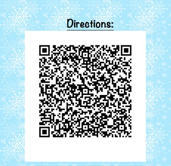 Holiday Scavenger Hunt with QR Codes