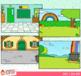 Holiday Scene Backgrounds Clip Art GROWING Bundle