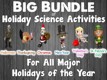 Holiday Science Bundle: Activities for Every Major Holiday