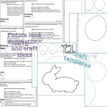 Holiday Science: Easter Themed lab sheets and crafts