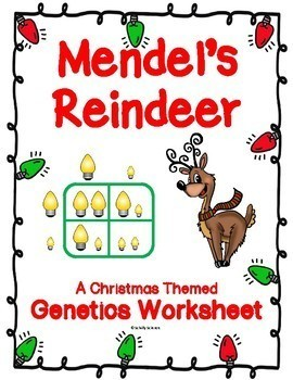 Holiday Punnett Squares Worksheets