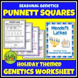 Hanukkah Punnett Square Worksheet - Genetics
