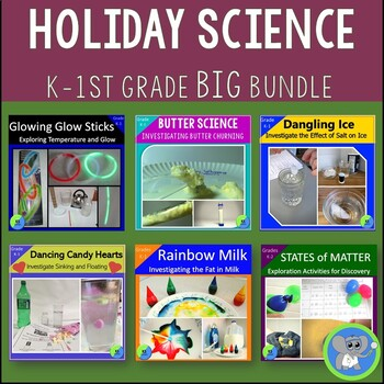 Holiday Science:  Experiment for Halloween, Valentine's, a