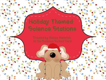 Christmas Holiday Science Stations