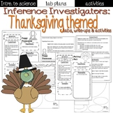 Holiday Science: Thanksgiving themed lab sheets and activities
