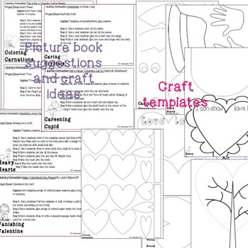 Holiday Science: Valentine's Day Themed lab sheets and crafts