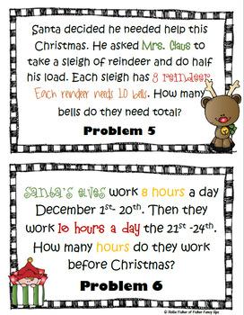 Holiday Math Scoot Bundle
