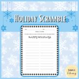Holiday Scramble