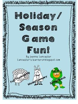 Holiday - Season Game Fun