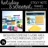 Holiday & Seasonal Pack Sticky Note Frames (7x5)