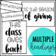 Season of Giving Holiday Bulletin Board Kit | December Bulletin Board Kit