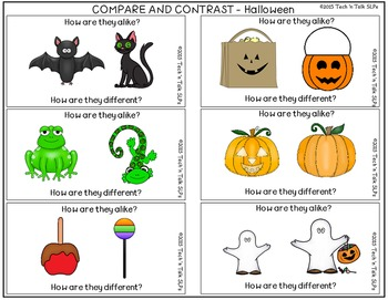 Holiday/Seasonal Compare & Contrast (Language Builders Sampler)