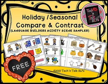 Holiday/Seasonal Compare & Contrast (Language Builders Sampler)