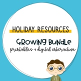 Holiday Resources Growing Bundle