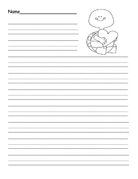 Holiday & Seasonal Themed Primary Writing Paper