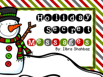 Holiday Secret Messages