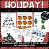 Holiday Self Regulation Activities