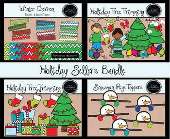 Holiday Sellers Bundle - Digital Clipart