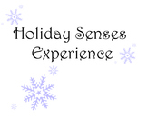 Holiday Senses Experiences (Descriptive Writing Activity)