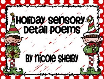 Holiday Sensory Detail Poems