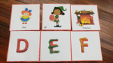 Holiday Sensory Letter Hunt and Beginning Sounds Hunt