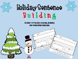 Holiday Sentence Building