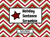 Holiday Sentence Scramble