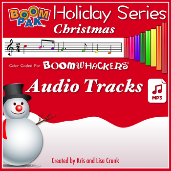 Boomwhackers® Christmas Songs - The Holiday Series #1 - Audio Tracks mp3s -