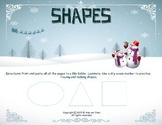 Holiday Shapes File Folder
