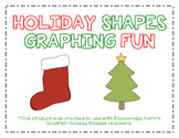 Holiday Shapes Graphing Fun