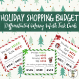 Holiday Budget Task Cards