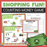 Counting Money Game - Editable - Adding Money