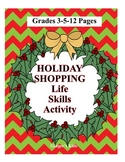 Christmas Shopping Math Grades 3-5