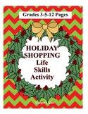 Christmas Shopping Math Grades 3-5