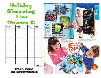Holiday Shopping List: Volume 2