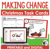 Making Change Task Cards Holiday Shopping